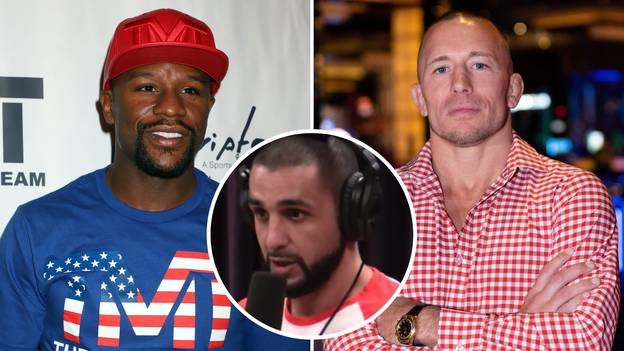 Georges St-Pierre's Former Coach Wanted 'GSP' To Fight Floyd Mayweather And Explained What Would Happen In A Boxing Clash