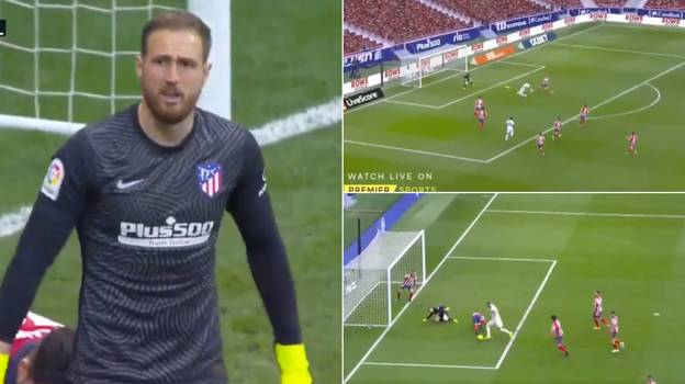 Jan Oblak Proved He's The Best Goalkeeper In The World With Incredible Double Save Against Real Madrid
