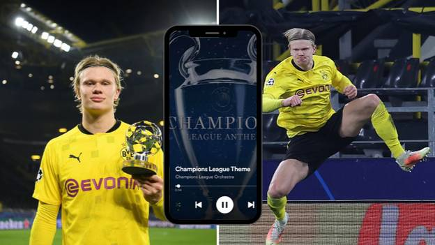 Erling Haaland Wakes Up To The Champions League Theme Every Day