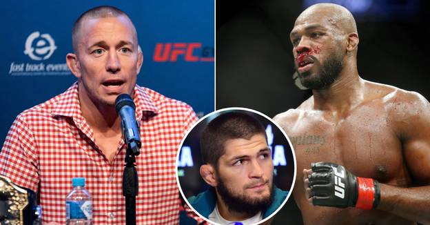 Georges St-Pierre Overlooks Jon Jones And Khabib As He Names UFC's GOAT