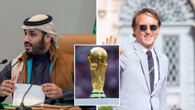 Saudi Arabia Considering World Cup 2030 Bid With Italy