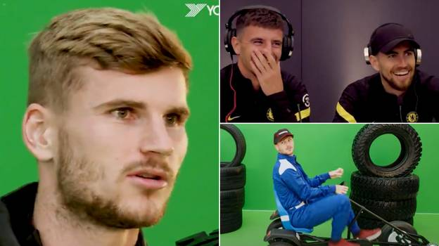 Timo Werner Gets Ruthlessly Pranked By Mason Mount And Jorginho, It's Comedy Gold