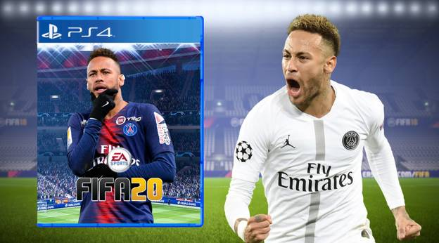 Neymar Leads Fan-Made Poll Asking Who Should Be The Next FIFA 20 Cover Star