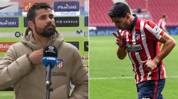 Diego Costa Calls Luis Suarez A 'B*stard' For Scoring On His Return