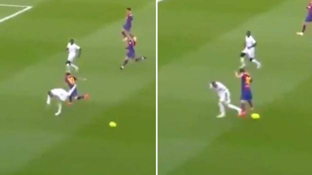 Sergio Ramos Did The Most Perfect Tackle On Lionel Messi