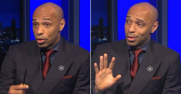 Thierry Henry Names His Six Greatest Premier League Hall Of Fame Legends