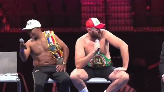 Tyson Fury's Motivational Speech After Deontay Wilder Victory Is Brilliant