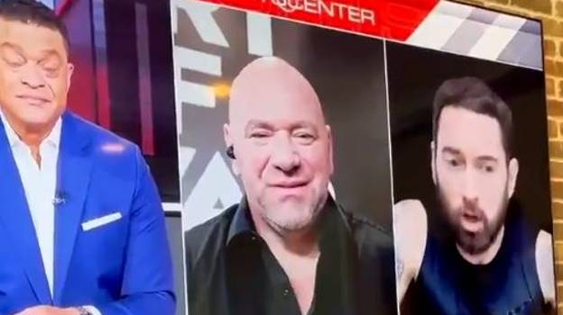 Eminem Leaves Dana White Stunned By Saying His Opinion 'Doesn't Matter'