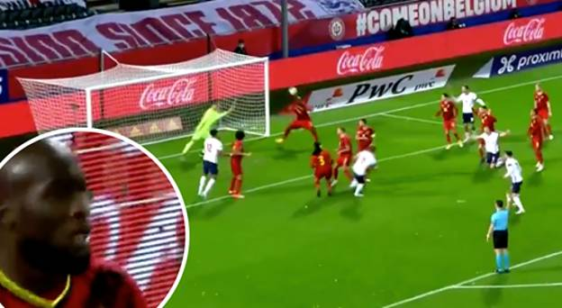 Romelu Lukaku Produced An Incredible Goal Line Clearance For Belgium Vs England
