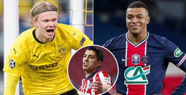 Luis Suarez Chooses Between Erling Haaland And Kylian Mbappe As Next Great Player