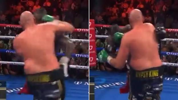 The Sound Of Tyson Fury's Monstrous Right Hand On Deontay Wilder Shows He Can Seriously Whack