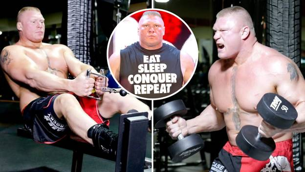 Brock Lesnar's 'Hardcore' MMA Workout Proves Why He Was An Absolute Beast In UFC