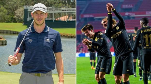 Barcelona Troll Gareth Bale With 'Golf Swing Celebration' Social Media Post Before Deleting