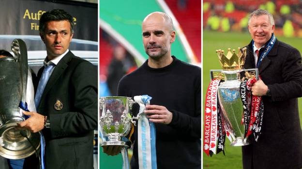 Top 10 Managers With Most Trophies In The 21st Century Revealed