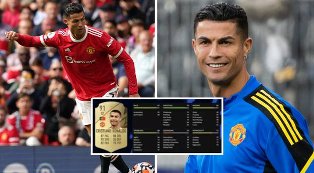 Cristiano Ronaldo's Full FIFA 22 In-Game Stats Leaked, He's Had A Big Downgrade