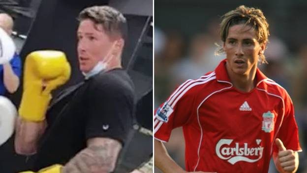 Fernando Torres Shows Off Incredible Body Transformation While Boxing In The Gym