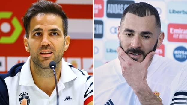 Cesc Fabregas Identifies 'Perfect Replacement' For Karim Benzema At Real Madrid