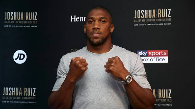 Anthony Joshua Is Tenth On World's Richest Boxers List