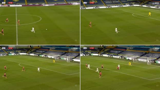Oriol Romeu Produces 'Tackle Of The Season' On Raphinha During Leeds United Vs. Southampton