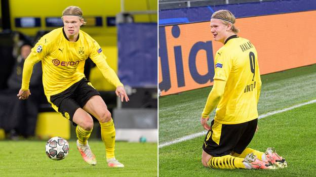 Erling Haaland Given Monstrous Price Tag By Borussia Dortmund Amid Transfer Speculation