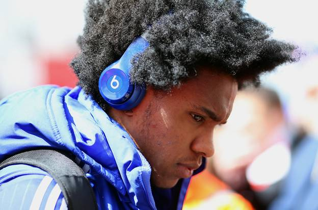 Willian Hits Back At 'Fat' Claims