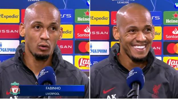Liverpool Fans Love Fabinho's Humble Post-Match Interview After 'Man Of The Match' Performance Against Ajax