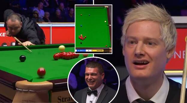 Stephen Maguire Produces Most Outrageous And Bizarre 'Foul' Trick Shot In Snooker History