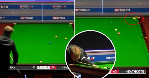 Snooker Player Pots Yellow With 'One Of The Most Extraordinary Shots In History'