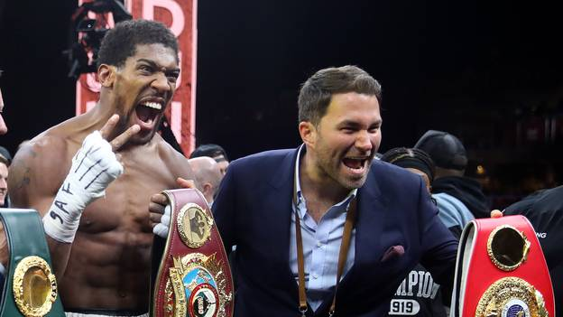 Eddie Hearn Reveals Possible Venues For Anthony Joshua vs Tyson Fury Bout