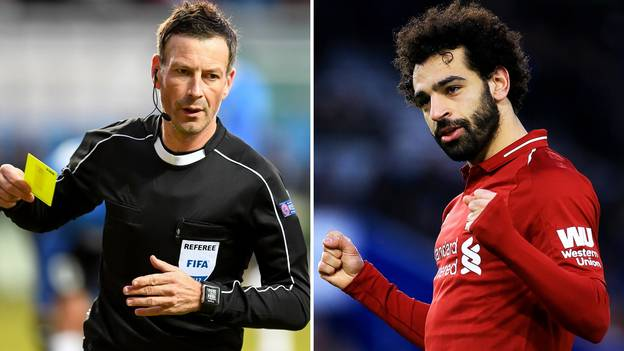 Clattenburg Has Noticed The One Thing Salah Does When He Tries To Win Fouls
