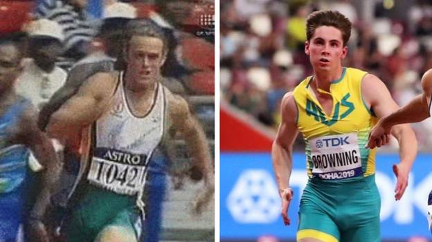 Aussie Sprinter Wants 'Package' Profile Shot Removed To Avoid 'Shirvo Comparisons'
