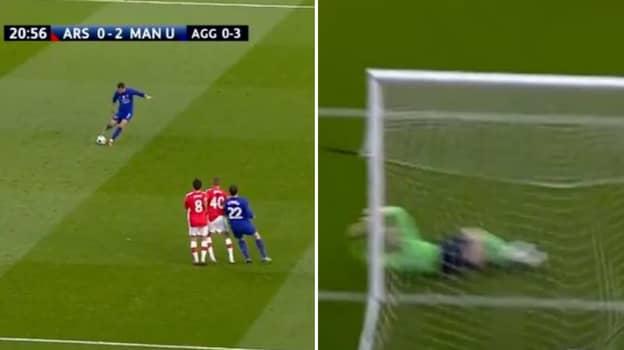 On This Day 12 Years Ago Cristiano Ronaldo Scored A Brilliant Free Kick Vs Arsenal