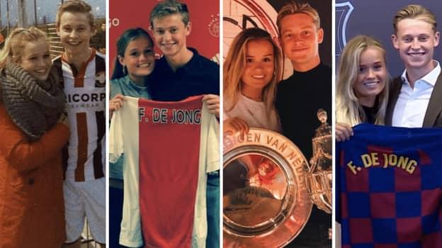 Frenkie De Jong's Girlfriend Mikky Kiemeney Has Been There Since Day One
