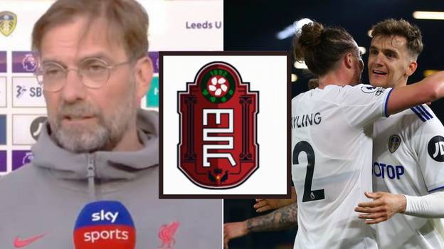 Leeds United Completed Social Media With Incredible 'Merseyside Red' Tweet After 1-1 Draw With Liverpool