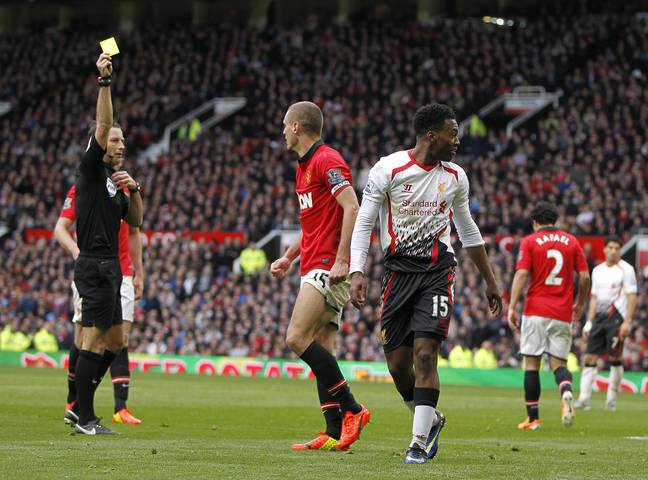 Clattenburg gave three penalties to Liverpool at Old Trafford in one match in 2014. Image: PA Images