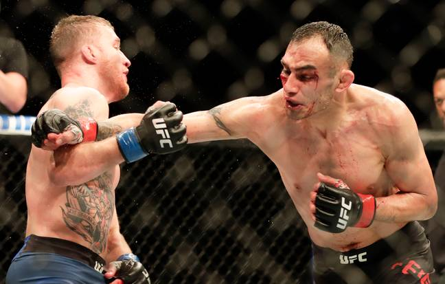 Ferguson was last in action against Justin Gaethje at UFC 249. (Image Credit: PA)