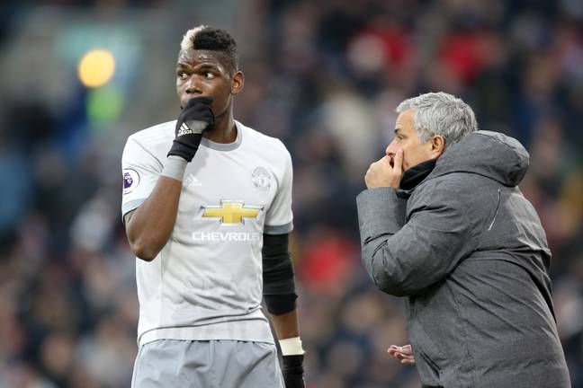 Things between Pogba and Mourinho haven't always been great. Image: PA Images