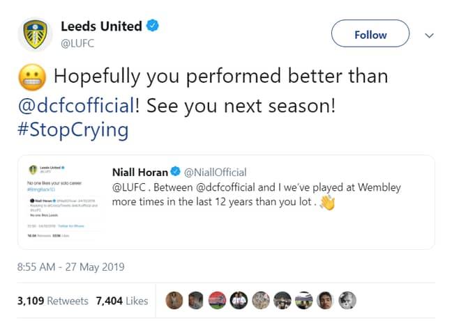 Image: Twitter/Leeds United