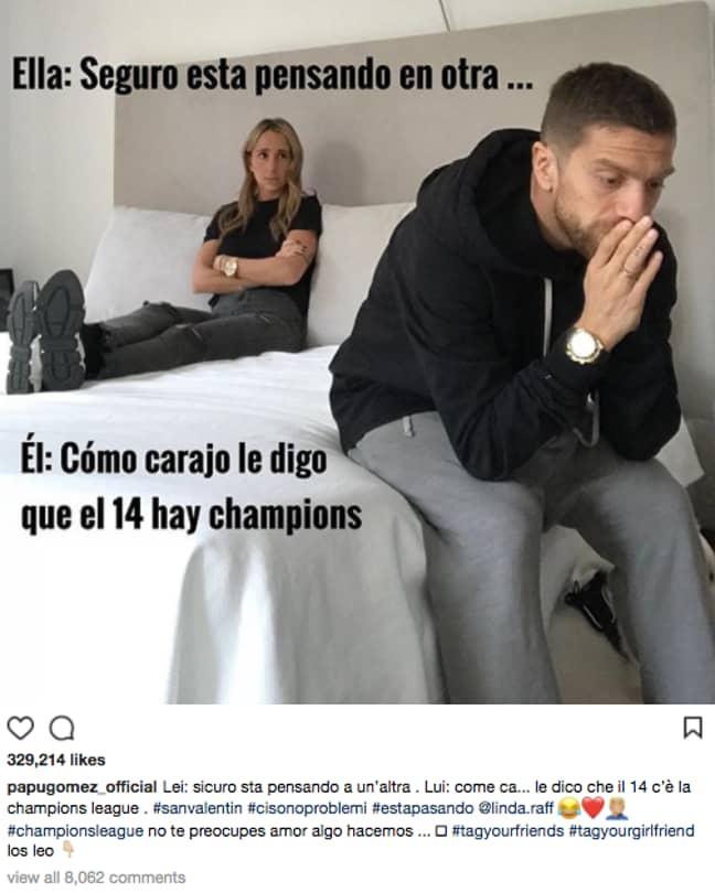 Image: PapuGomez/Instagram