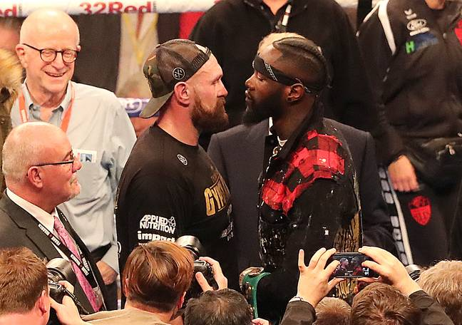 Will the winner of Wilder vs Fury take on Joshua? Image: PA Images