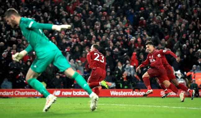 Shaqiri changed the game at Anfield. Image: PA Images