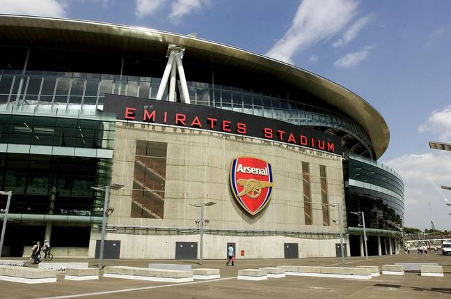 The Emirates Stadium, before the mice moved in. Image: PA Images