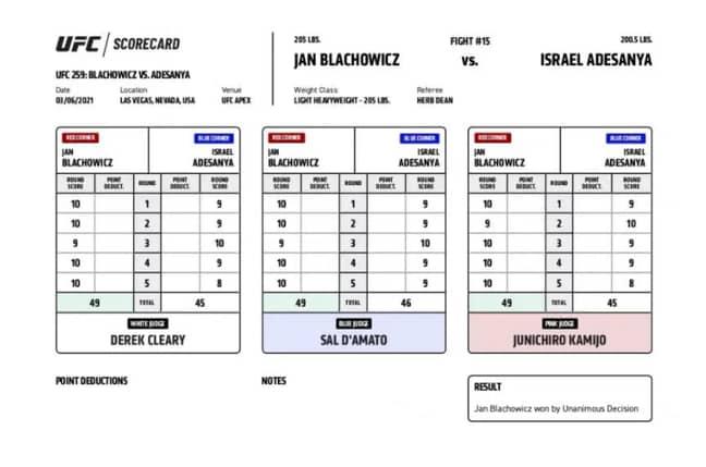 Image: via UFC