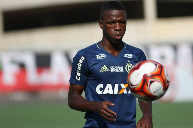 Vinícius Júnior will join Real this summer. Image: PA Images