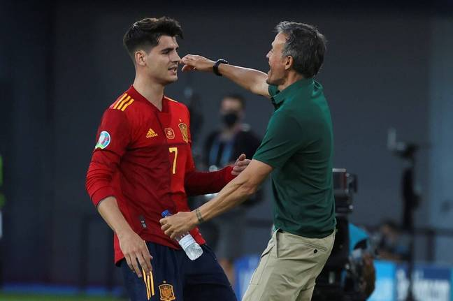 Alvaro Morata has received death threats over his current form for Spain