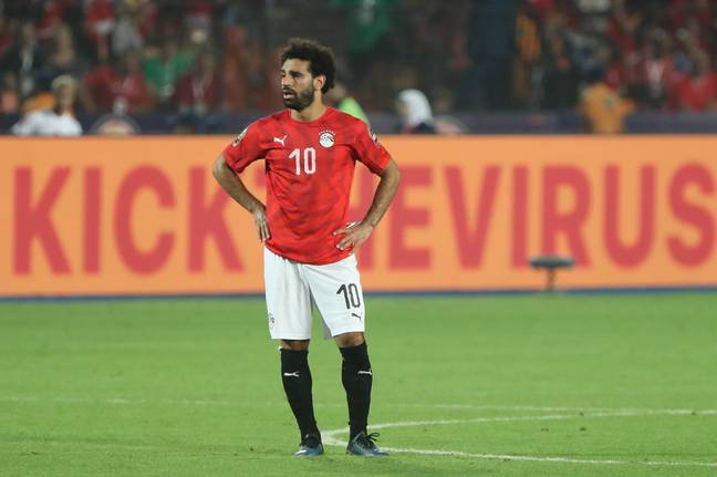 Salah playing for Egypt in 2019. Image: PA Images
