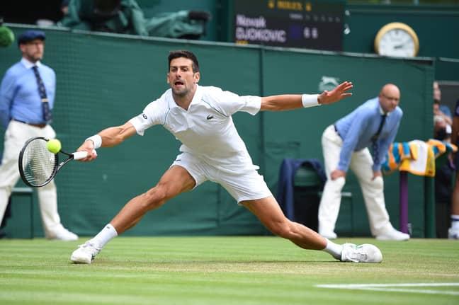 Novak Djokovic. Credit: PA