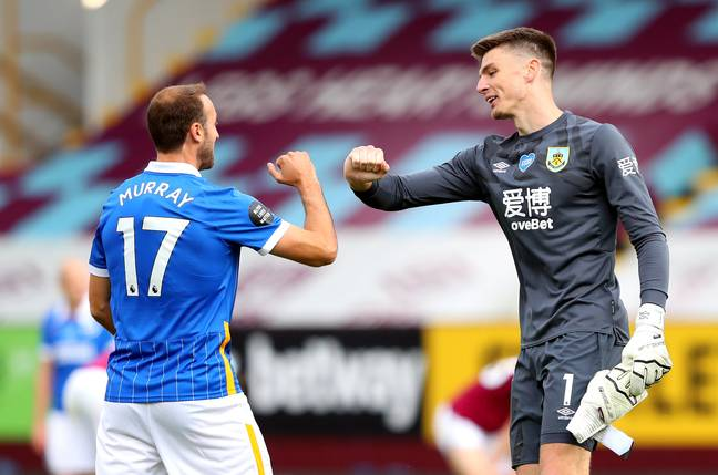 Nick Pope impressed a lot of people this year. Image: PA Images