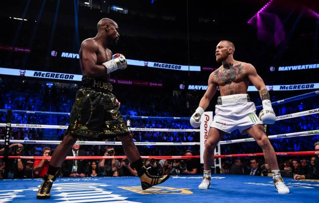 Floyd Mayweather stepped away from professional boxing after his 2017 victory over UFC star Conor McGregor