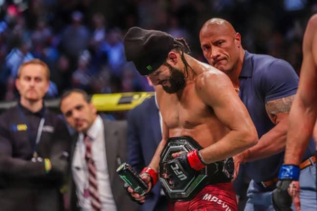 Could Masvidal's belt be next? Image: UFC